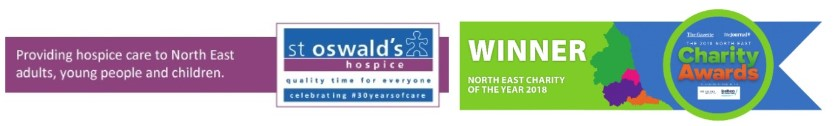 logo for St Oswald's Hospice