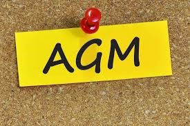 Graphic for an AGM